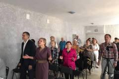 Вадим и Светлана Шипиловы посетили церковь «Сион», Запорожье